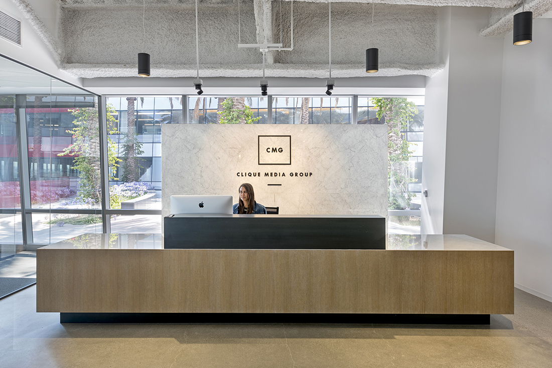 A Tour of Clique Media Group's Sleek Los Angeles Office