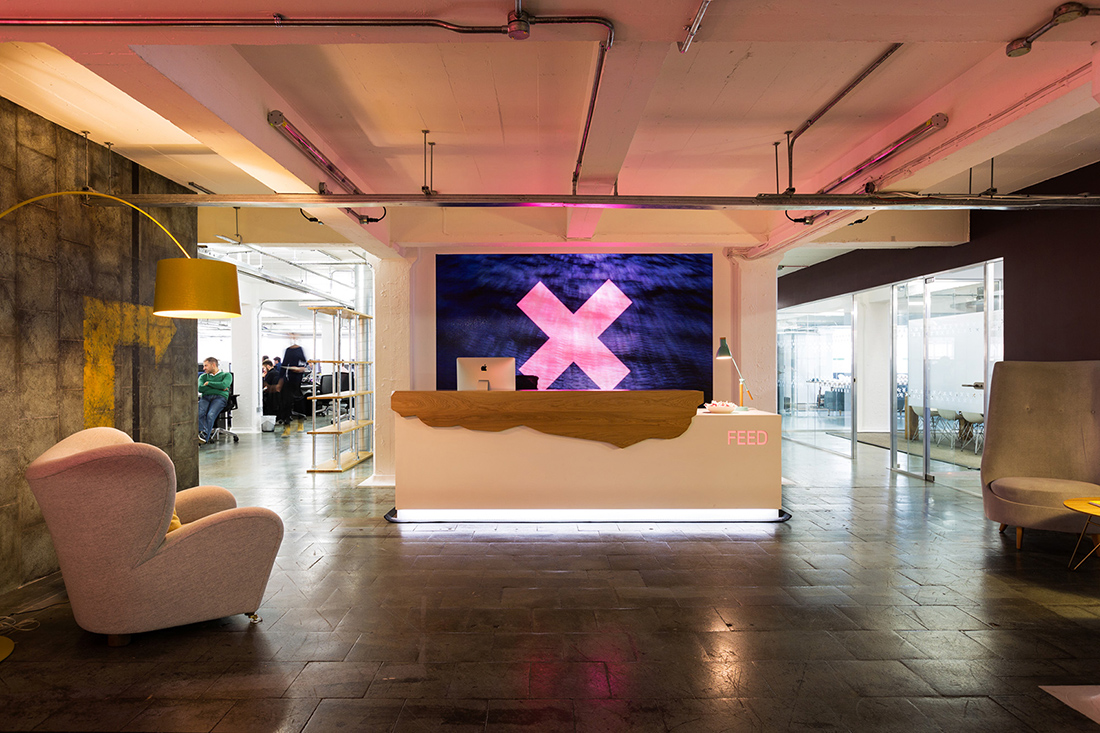 Inside Feed Communications' Cool London Office