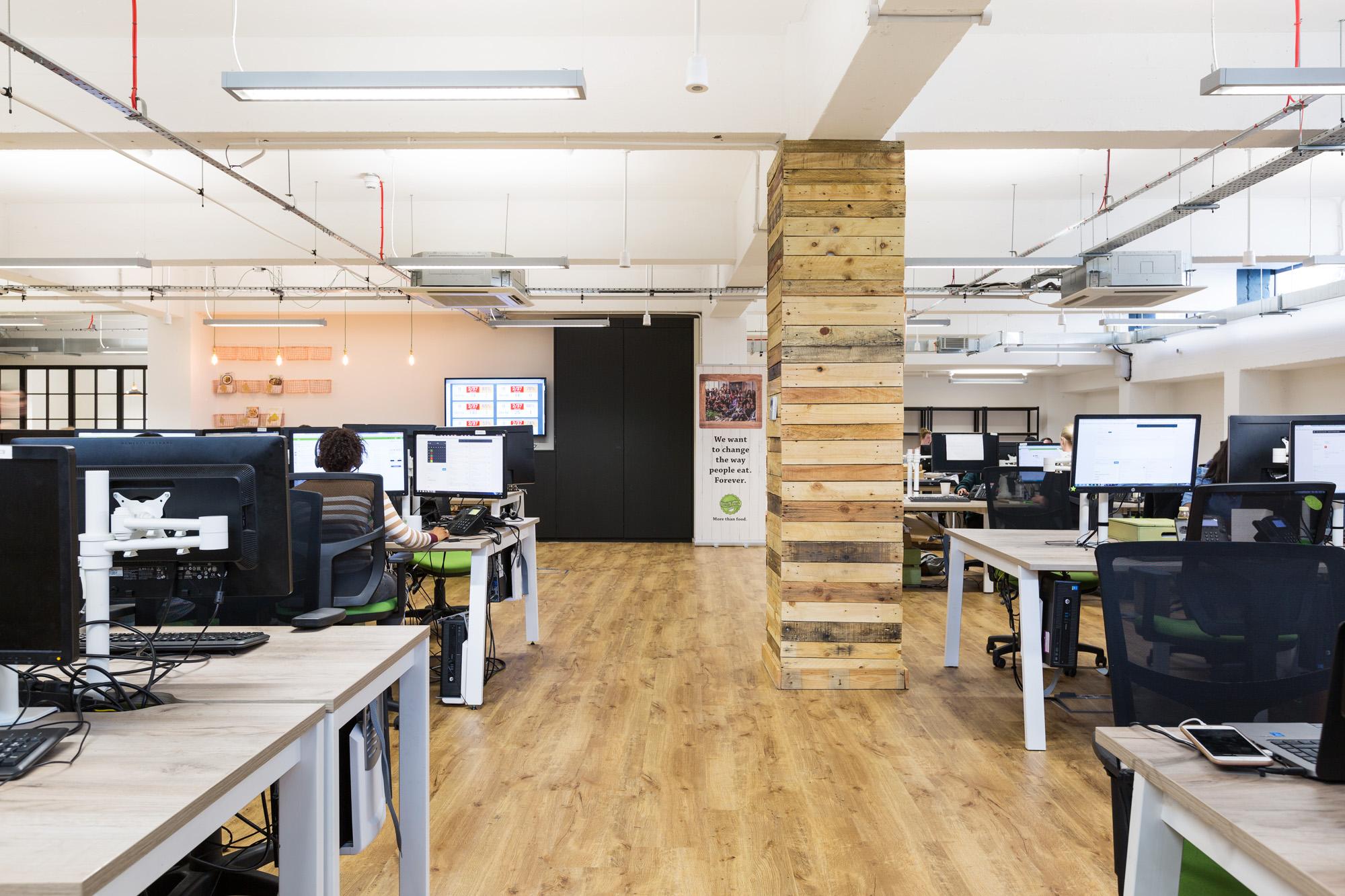 A Look Inside Hellofresh S Cool New London Headquarters