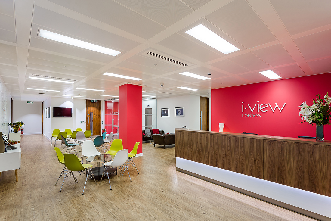 Inside the New Offices of i-View London