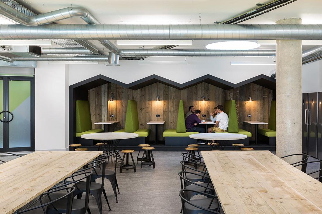 A peek inside merkle periscopix s london office for Interior design office london