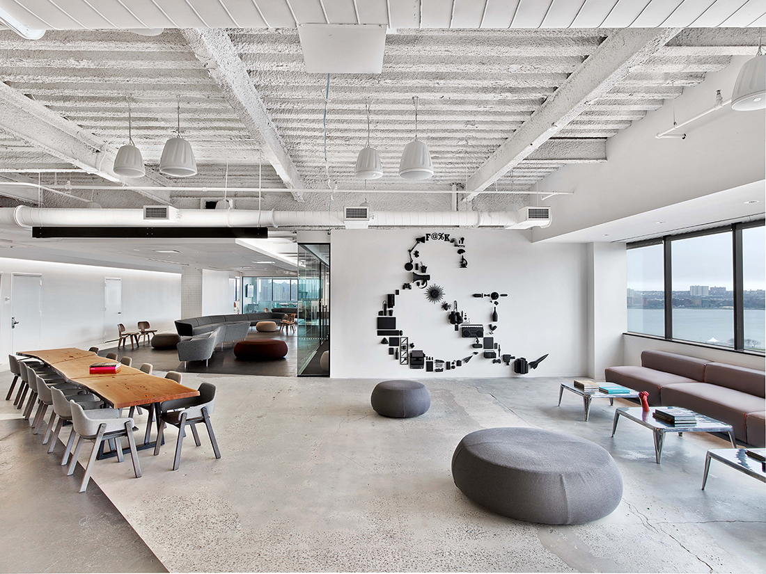 Inside Saatchi & Saatchi's New NYC Office