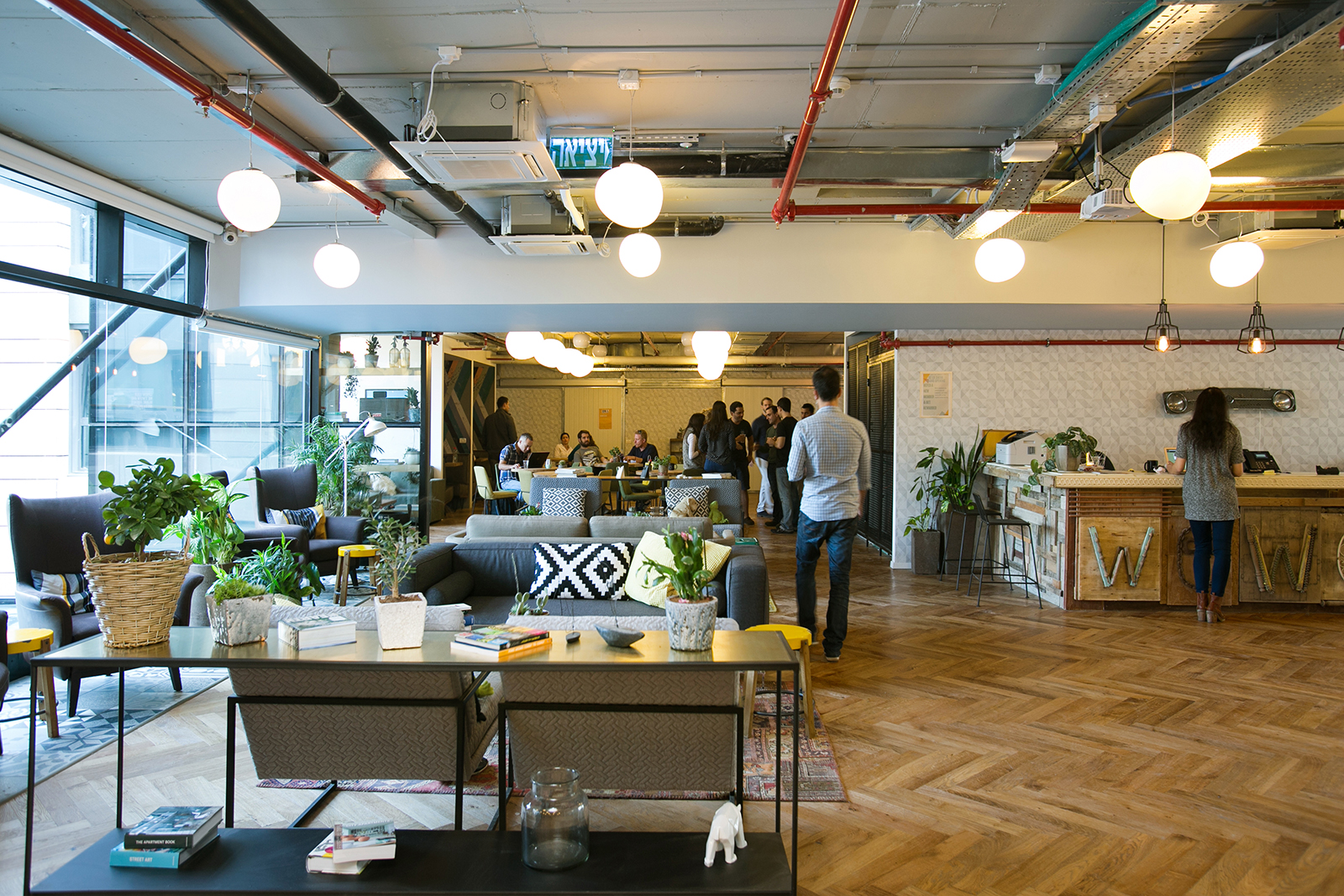 A Quick Tour Of Wework Sarona Officelovin