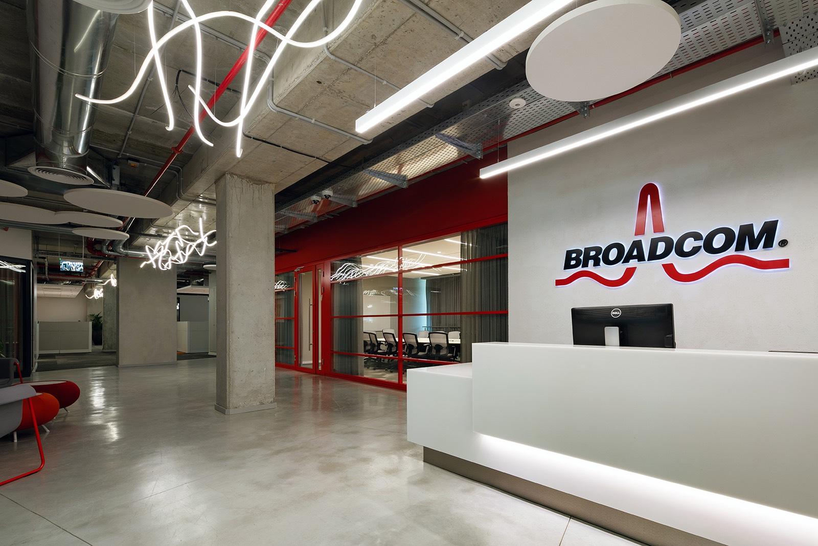 A Look Inside Broadcom's New Yakum Office - Officelovin'