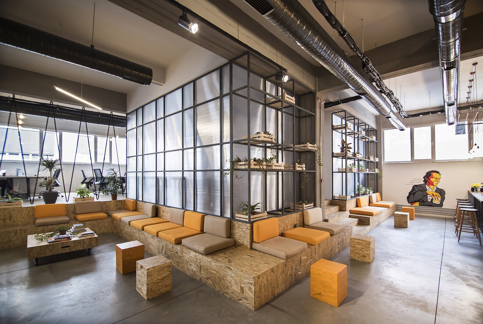 A Tour Of Habita S Istanbul Coworking Hub Officelovin
