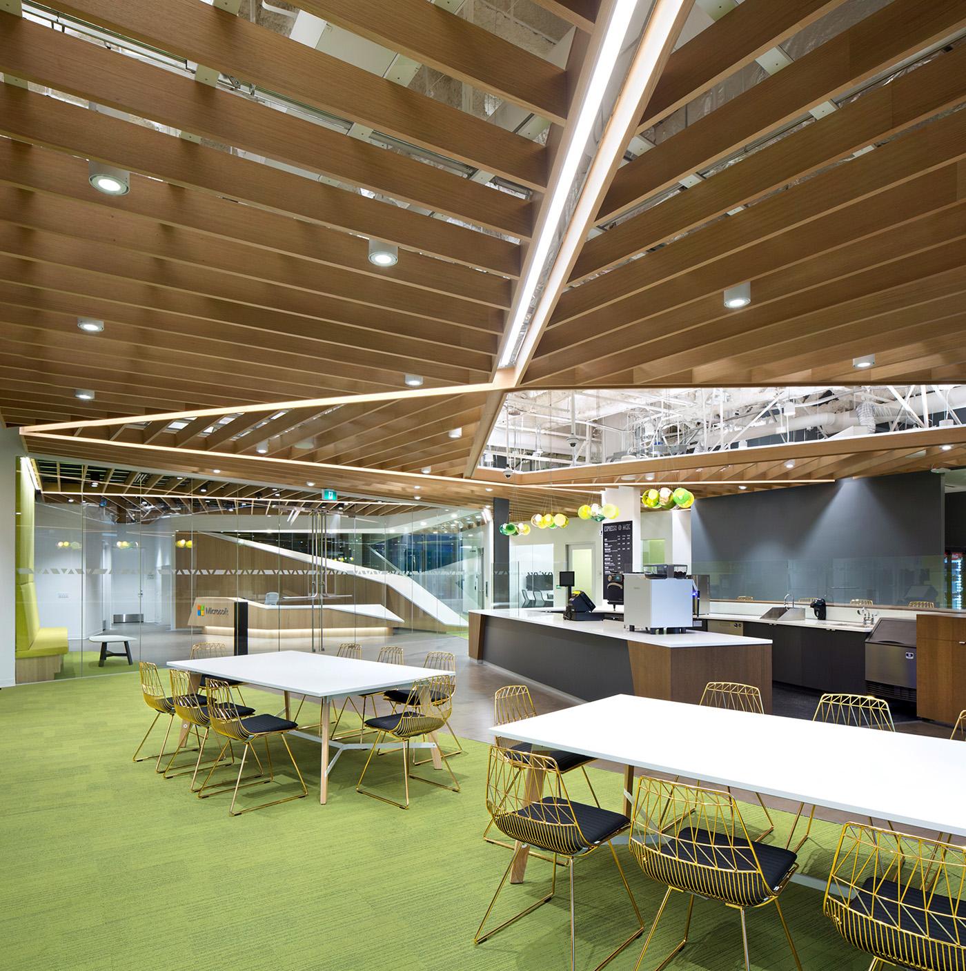 a tour of microsoft u2019s sleek new vancouver office
