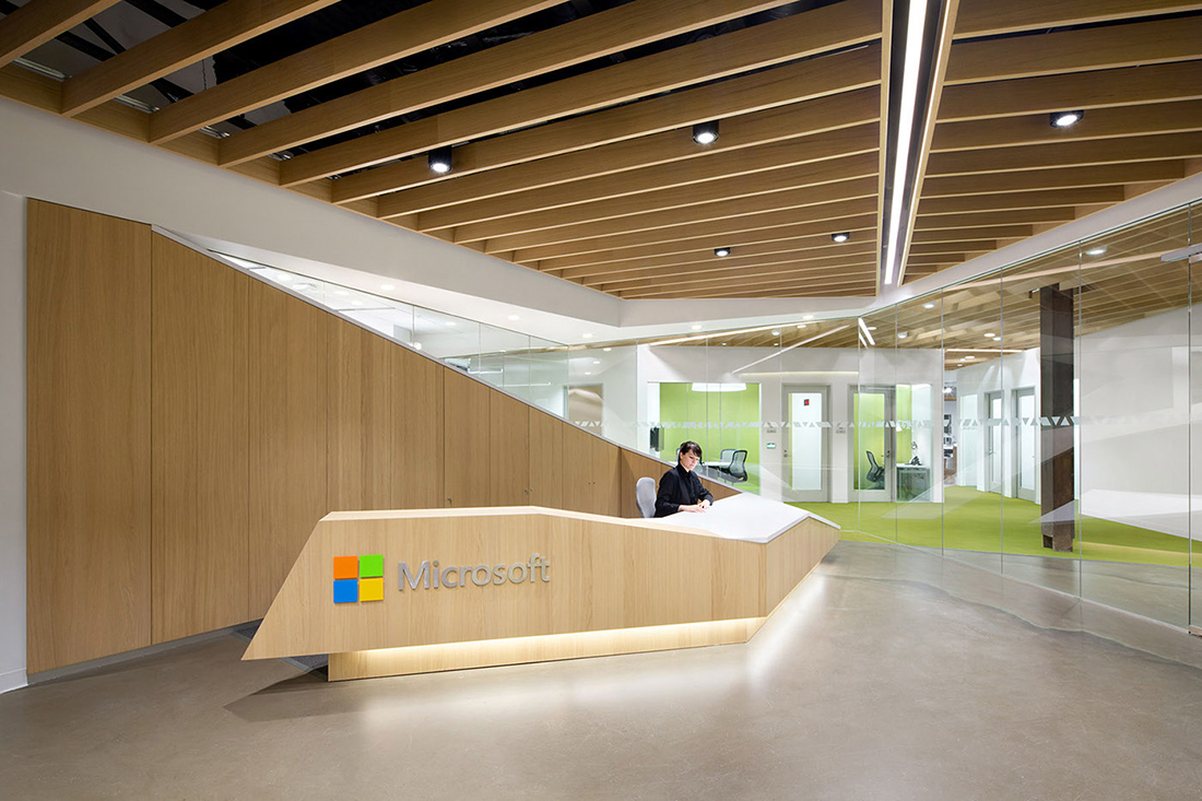 A Tour of Microsoft's Sleek New Vancouver Office