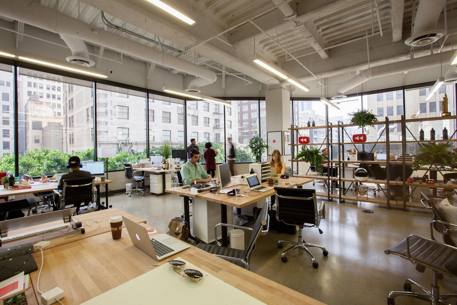 Inside portal a s new los angeles office officelovin 39 - Interior design companies los angeles ...