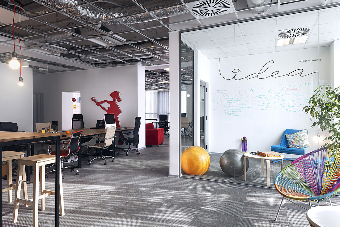 A Look Inside Publicis' Cool New Sofia Office
