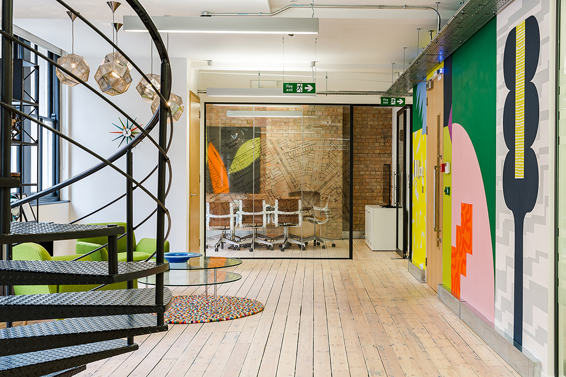 A Tour of Omidyar Network's New London Office