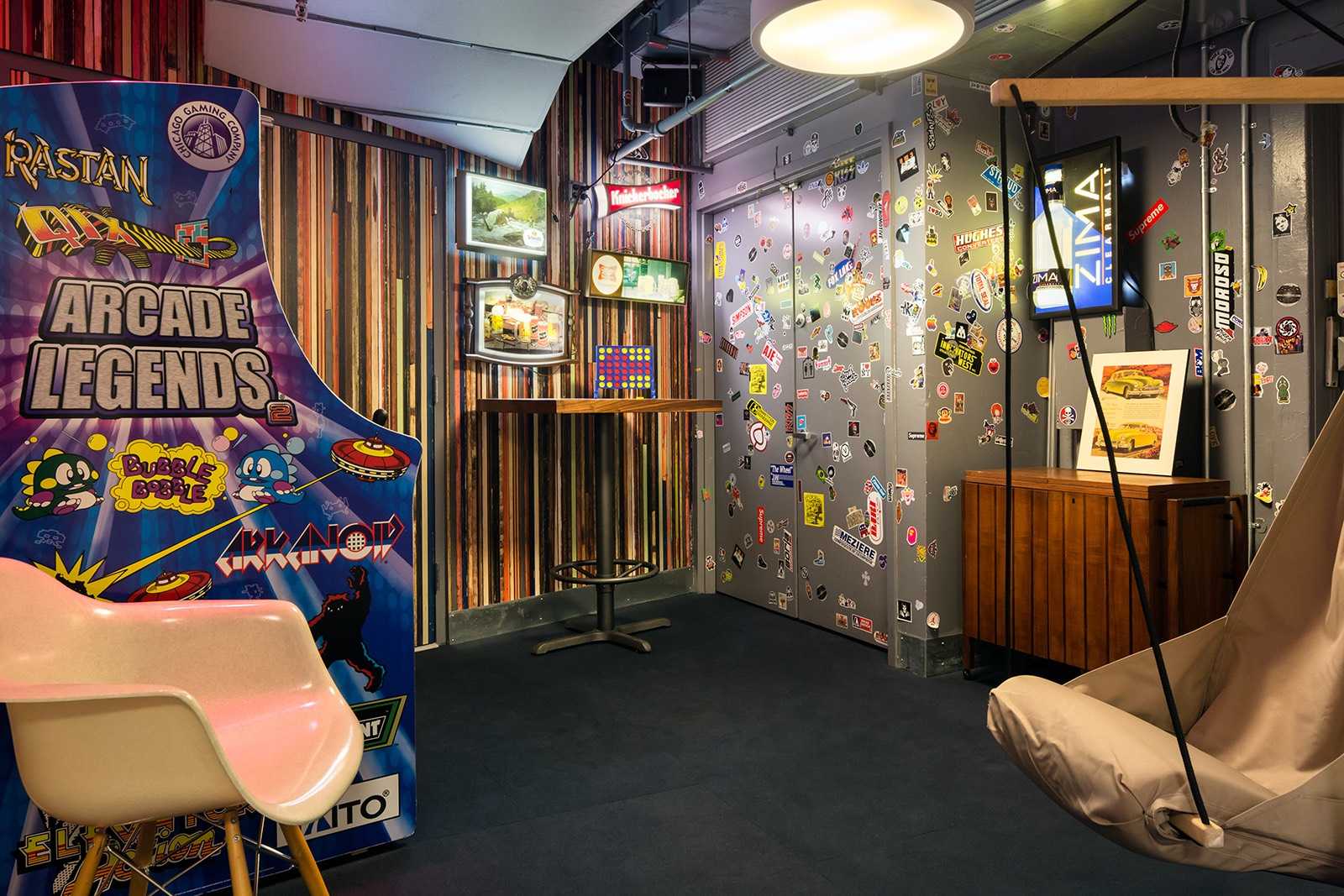 Game room. Inside Sonic Union s Cool NYC Office   Officelovin