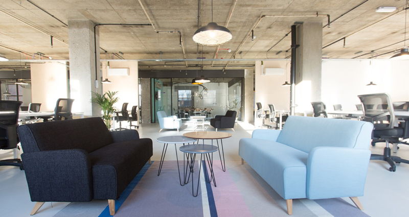 Another look inside kolektif house s coworking space for Tech house london