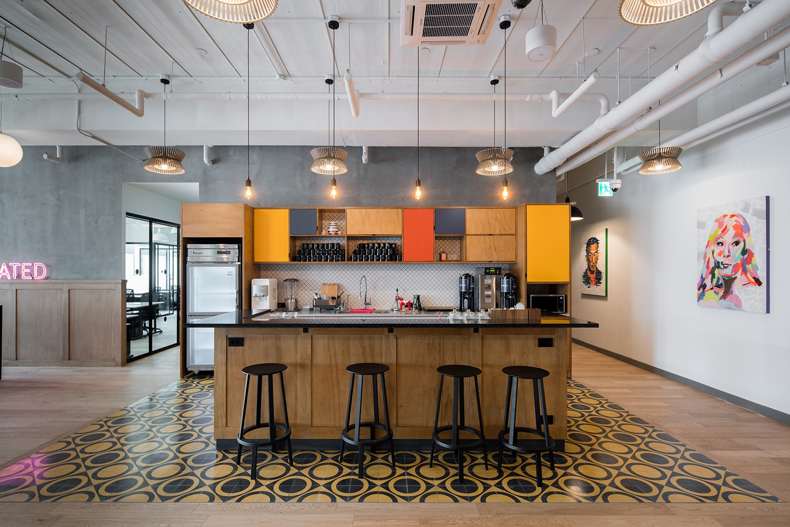 A Tour Of Wework S New Coworking Campus In Seoul
