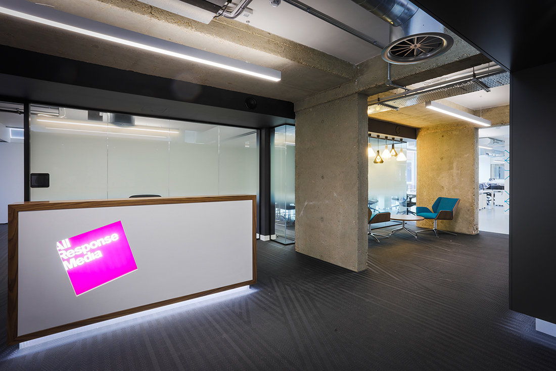 Inside All Response Media's Minimalist London Office