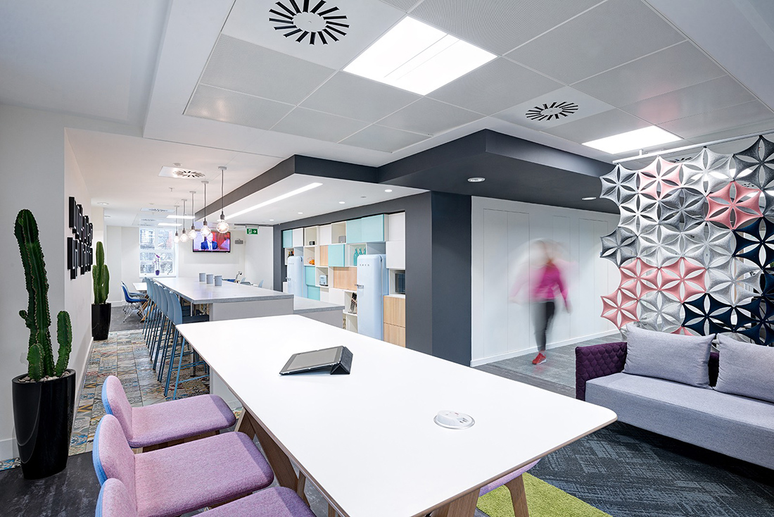 Inside Ancestry's New London Office