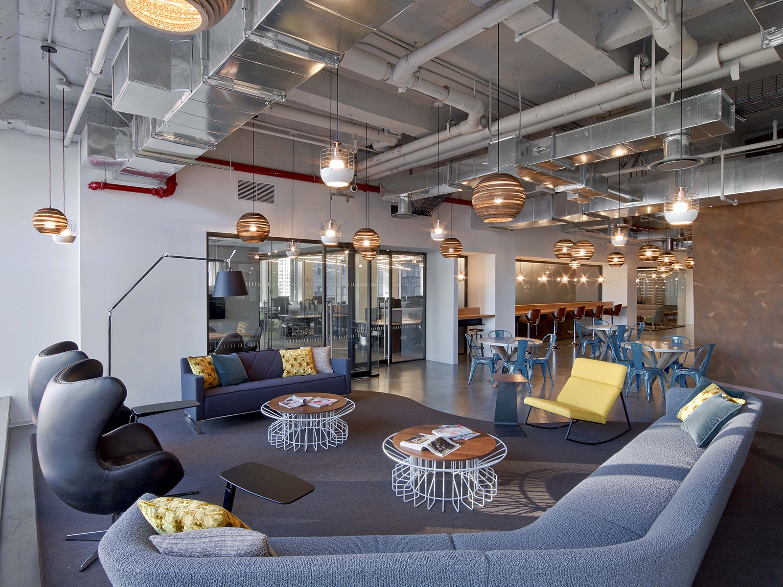 A look inside cond nast entertainment s nyc office officelovin 39 - Design lounges ...