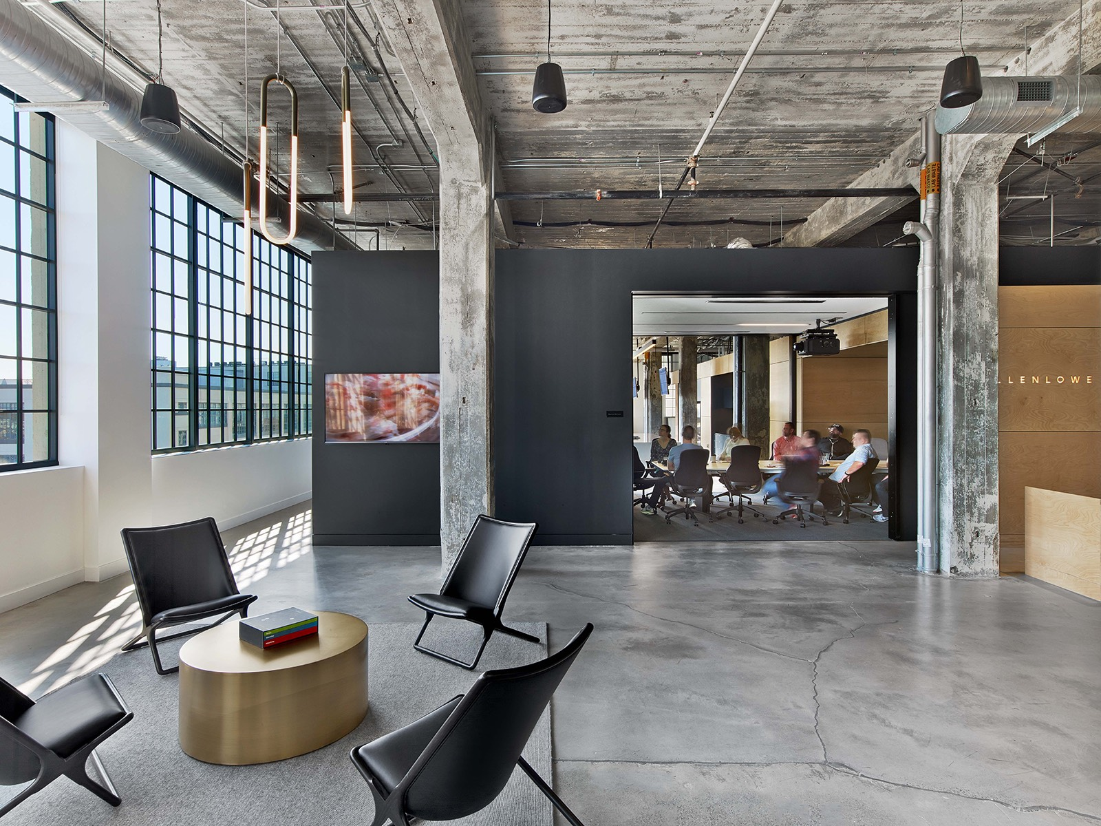 A Tour Of Mullenlowe S Modern Winston Salem Office