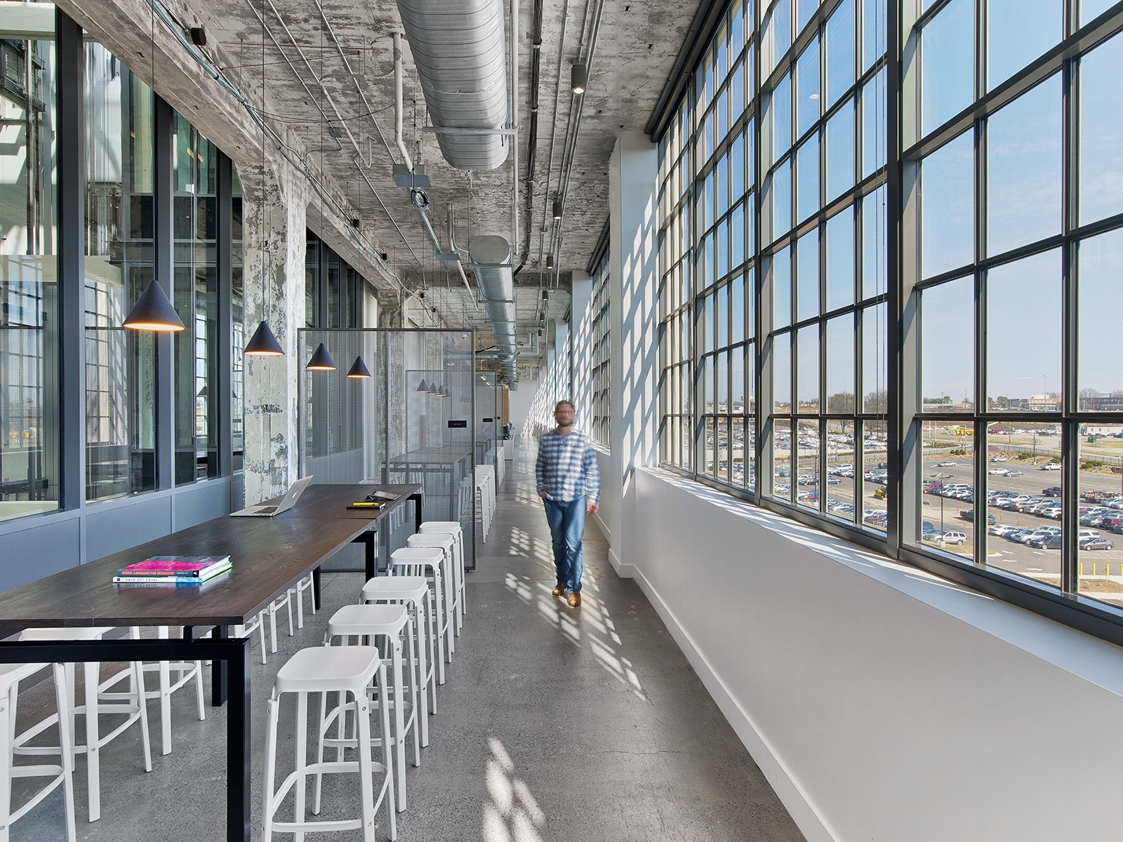 A Tour Of Mullenlowe S Modern Winston Salem Office