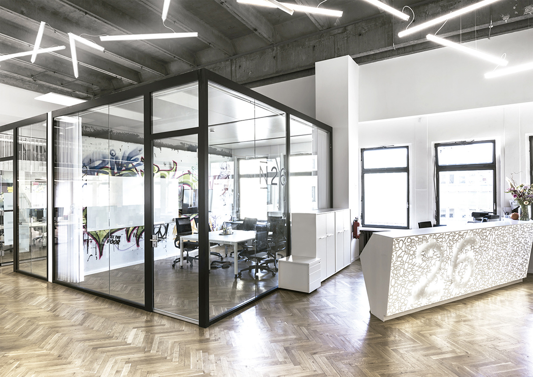 A Look Inside N26's New Berlin Office