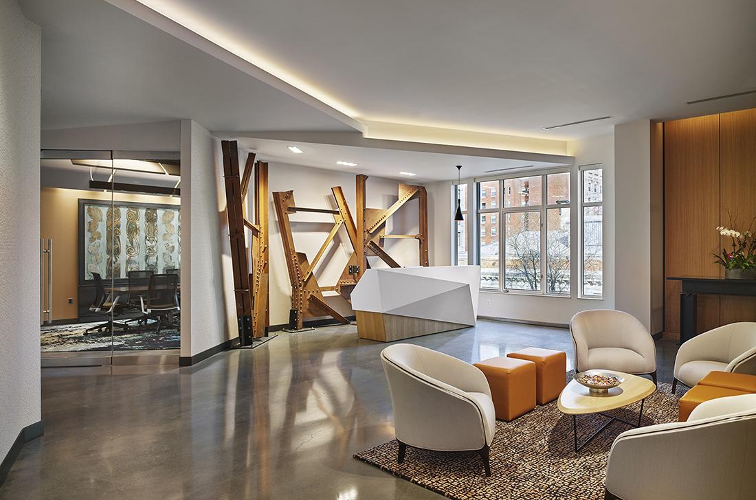 Inside Pearl Properties' New Philadelphia Office