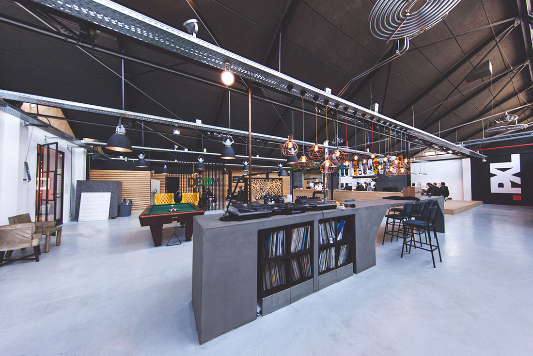 Inside Pixelindustries' New Office