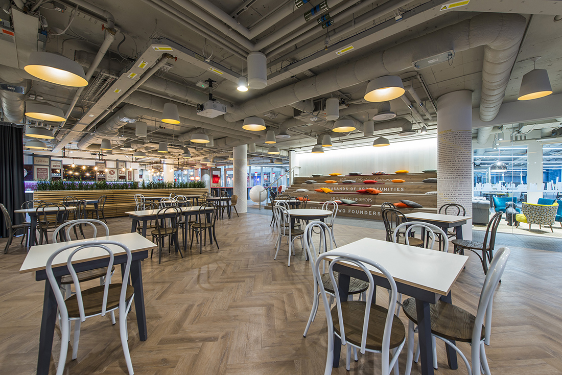 An Inside Look At Pret A Manger S New London Office