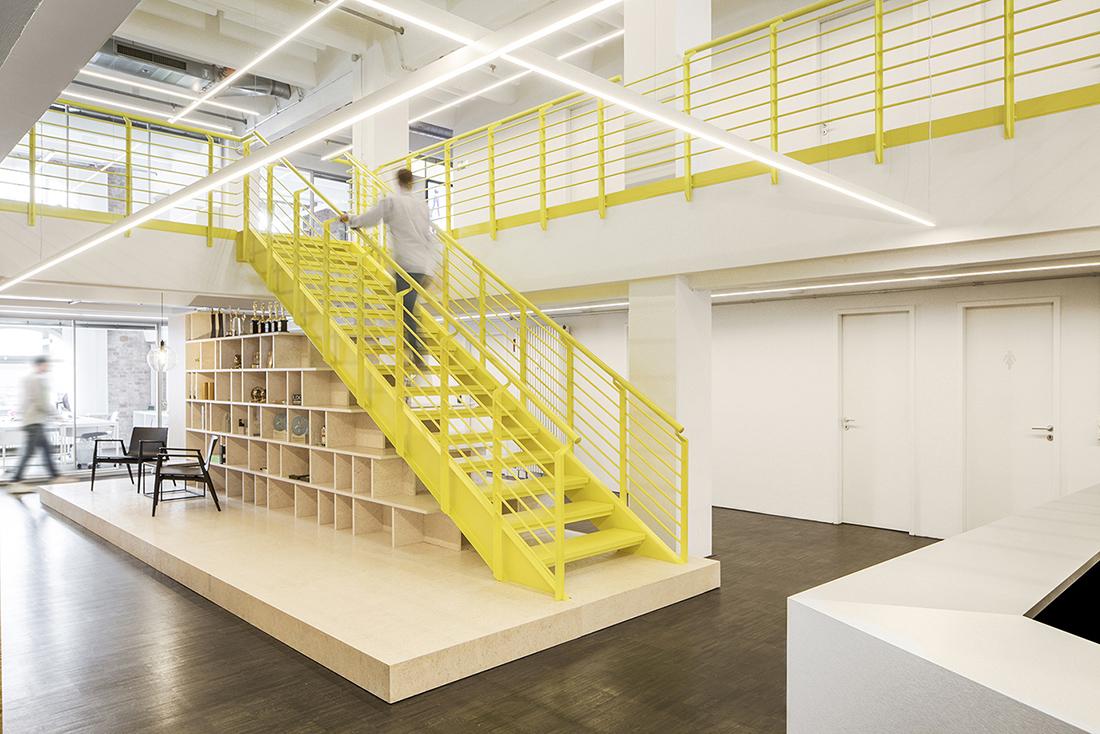 A Tour of Razorfish's Minimalist Berlin Office