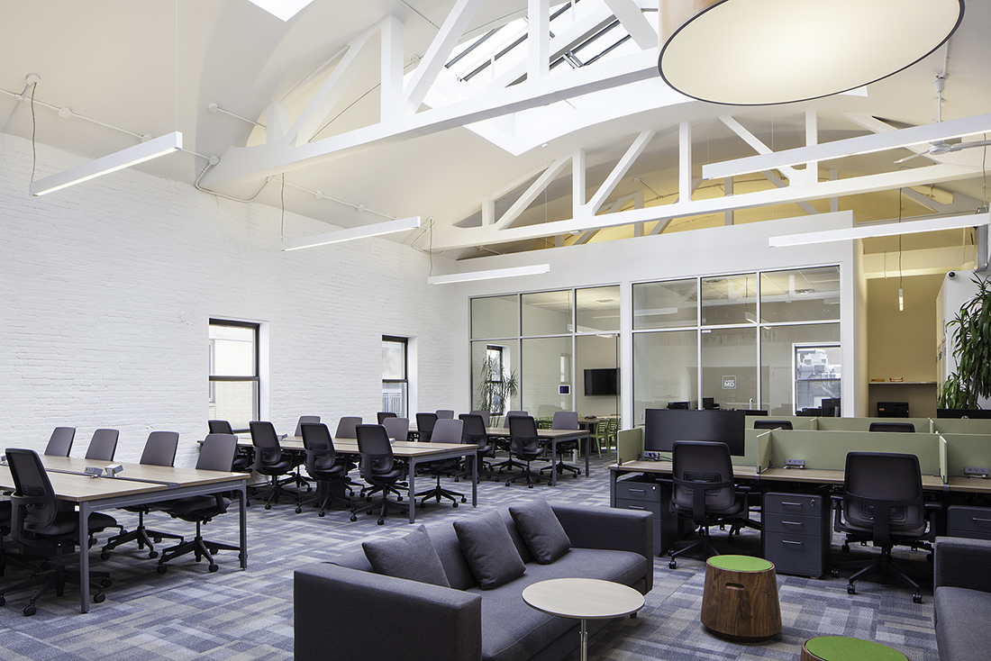 Inside The Commons' Minimalist NYC Coworking Space