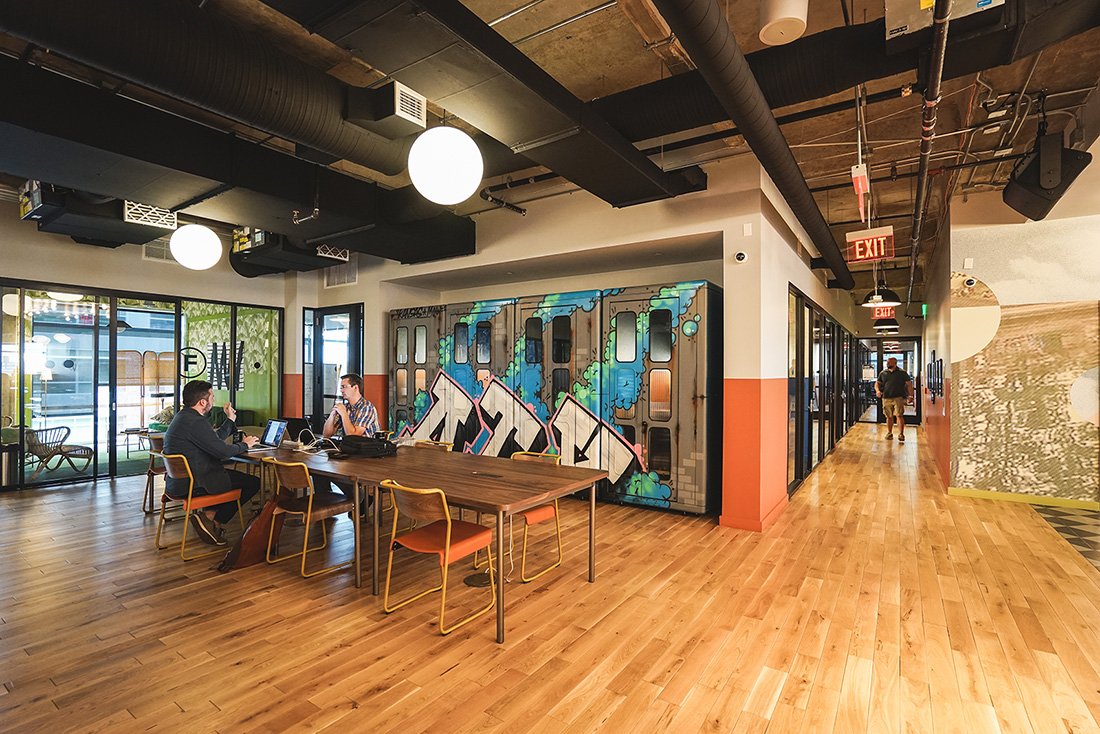 An Inside Look at WeWork's Coworking Space in Austin