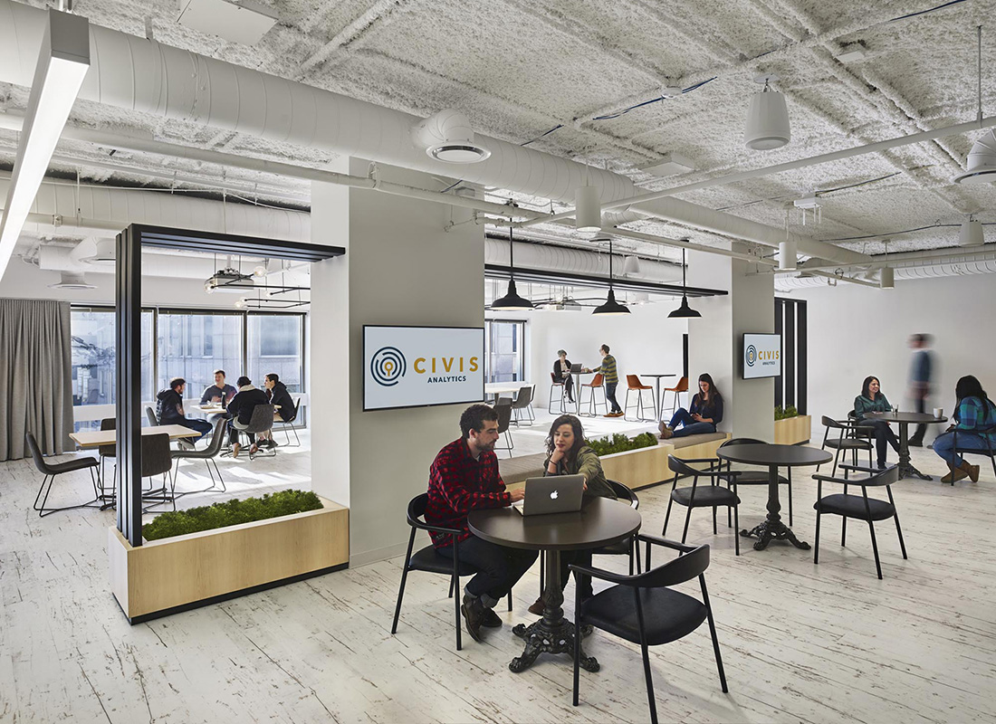 Inside Civis Analytics' Sleek New Chicago Office