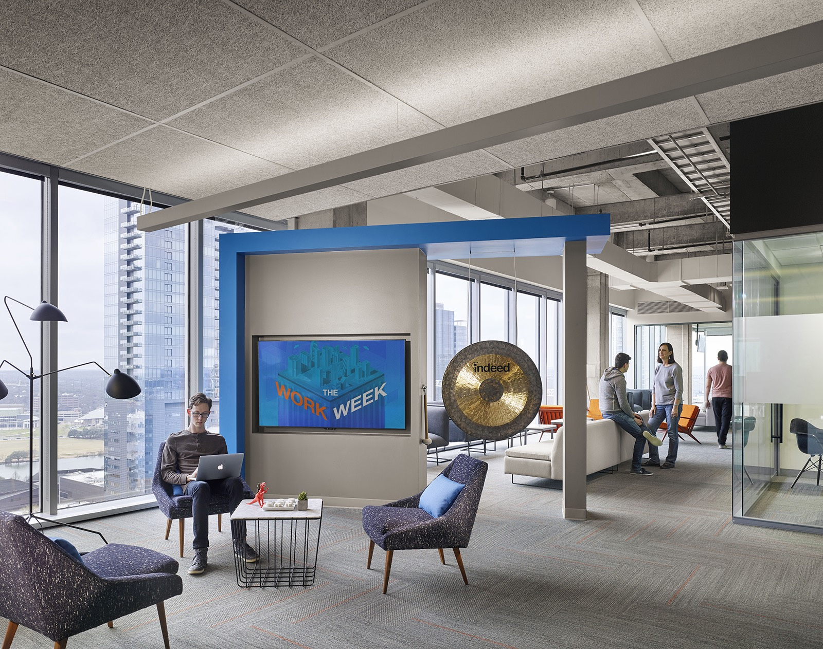 Office At Home Ideas: A Tour Of Indeed's Austin Office Expansion