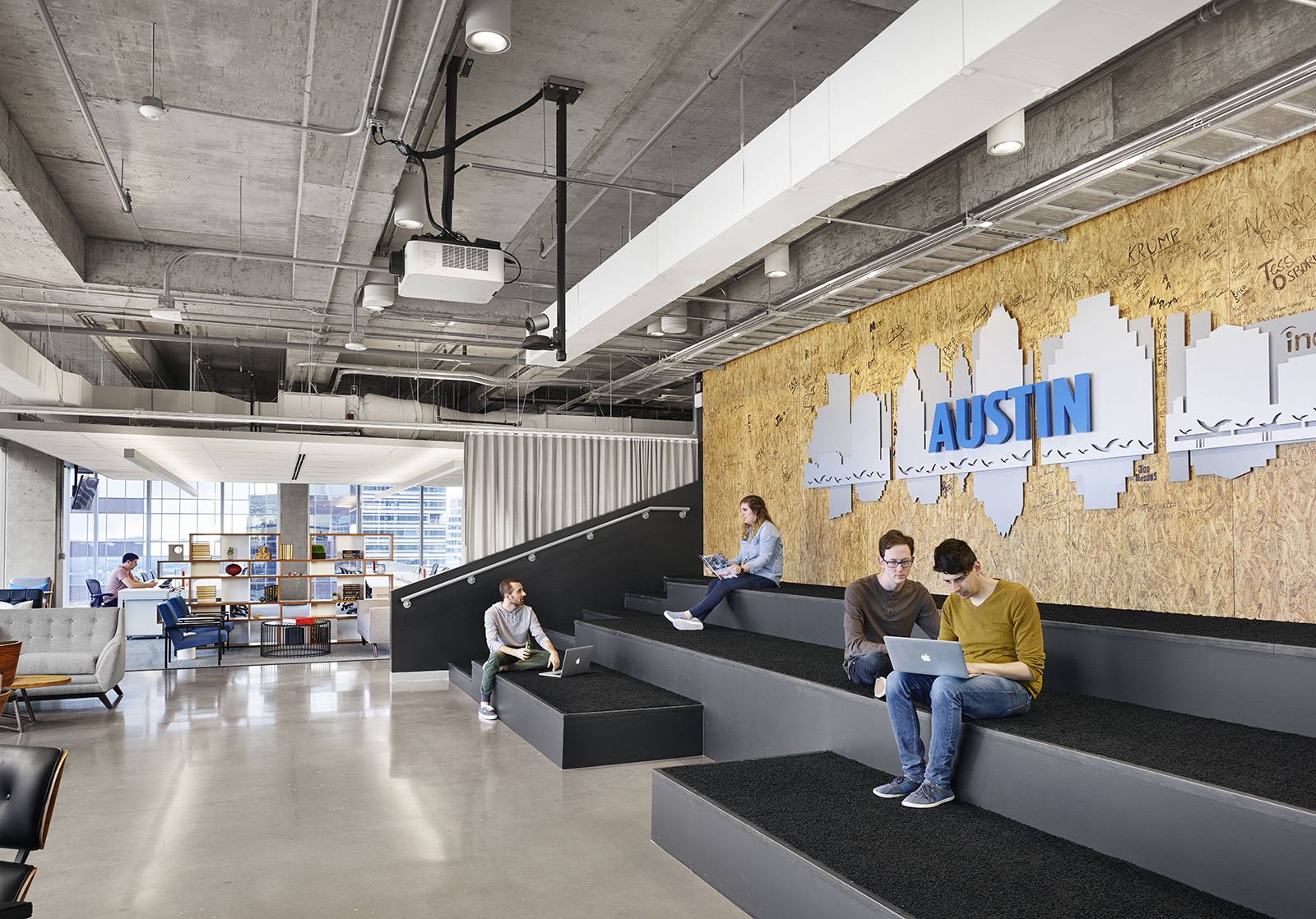 A Tour Of Indeed S Austin Office Expansion Officelovin