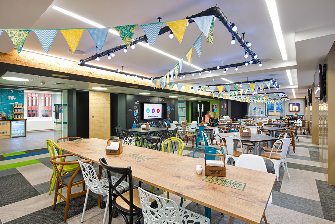A Tour of LinkedIn's Sleek London Office – Phase Two