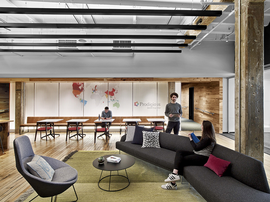 A Tour of Prodigious' New Brooklyn Office - Officelovin'