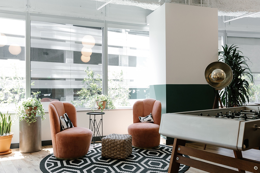 A Look Inside WeWork's Century City Coworking Space