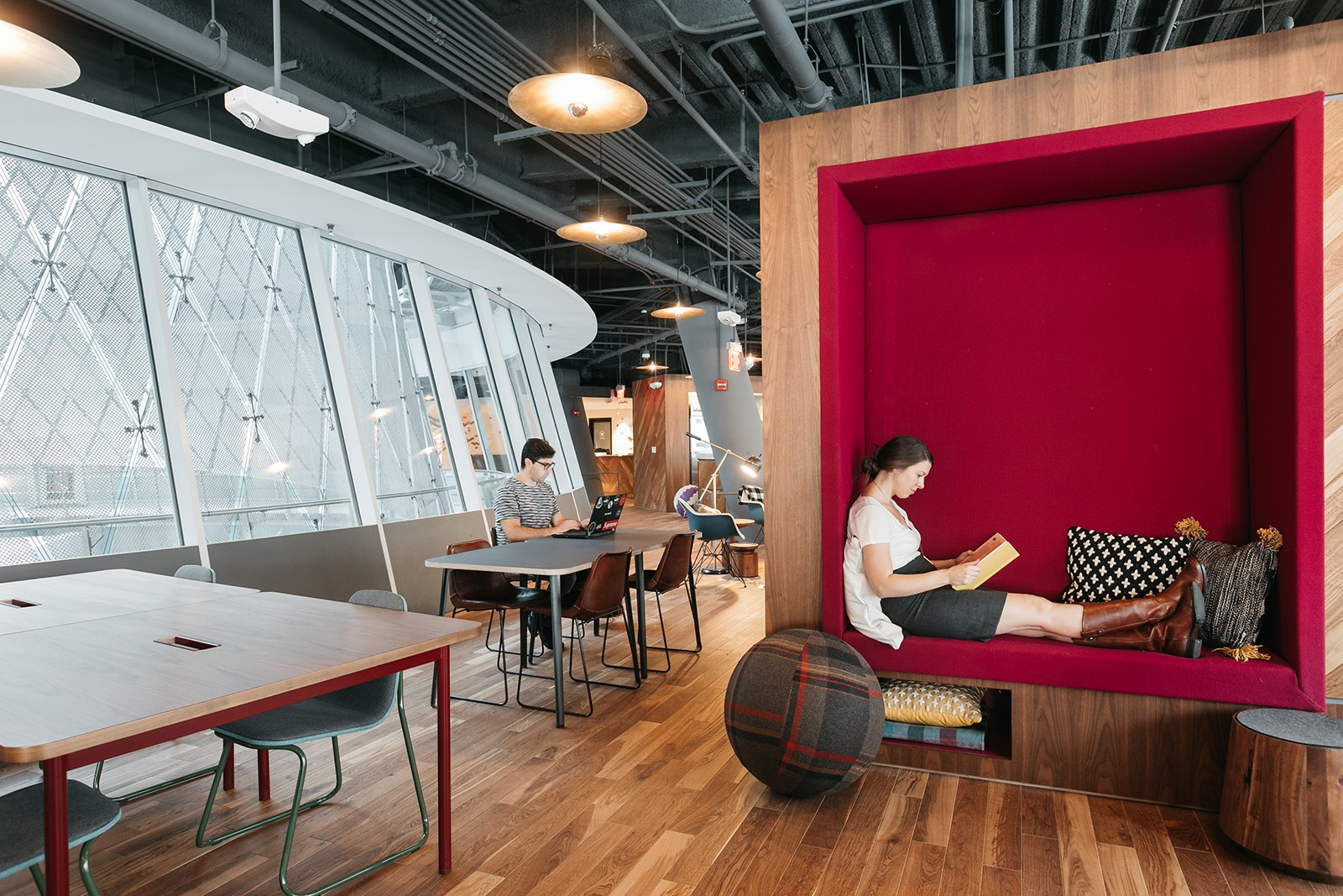 A Tour Of Wework Fulton Center Officelovin