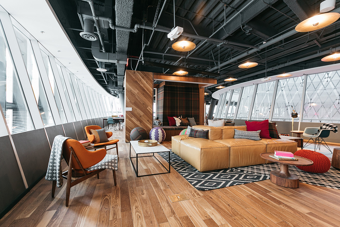A Tour of WeWork – Fulton Center