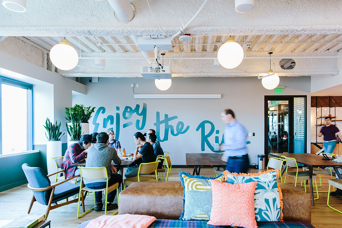 A Tour Of Wework Westlake Tower Officelovin