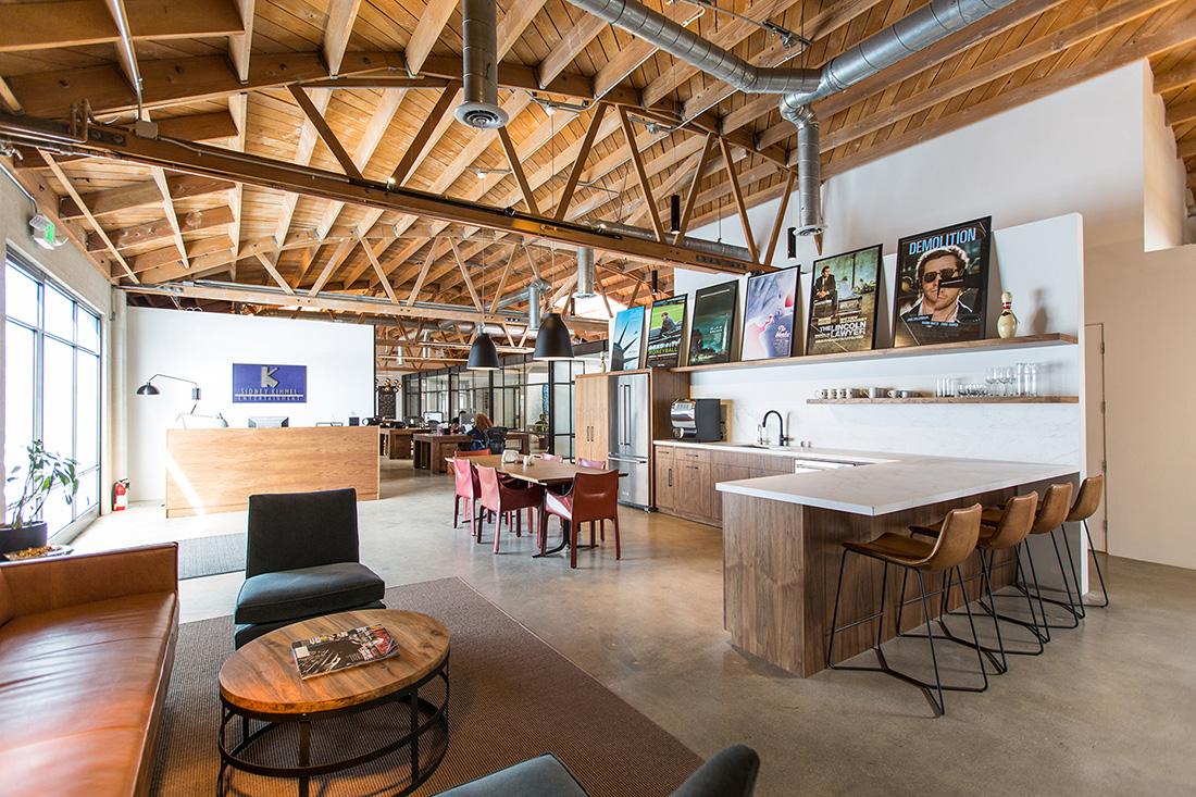 A Tour of Sidney Kimmel Entertainment's New Santa Monica Office