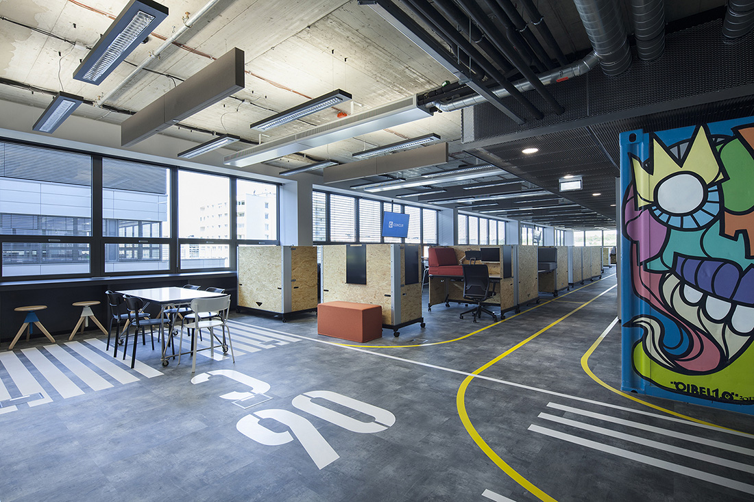 A Look Inside Concur's New Prague Office - Officelovin'