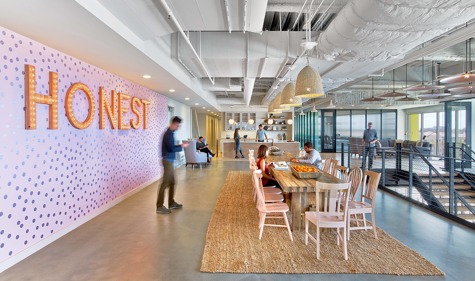 A tour of the honest company s cool los angeles for It company office design