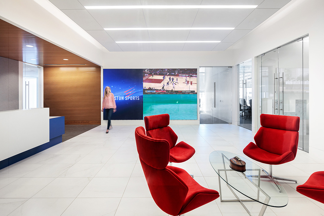 Inside the New Offices of Harris County Houston Sports Authority
