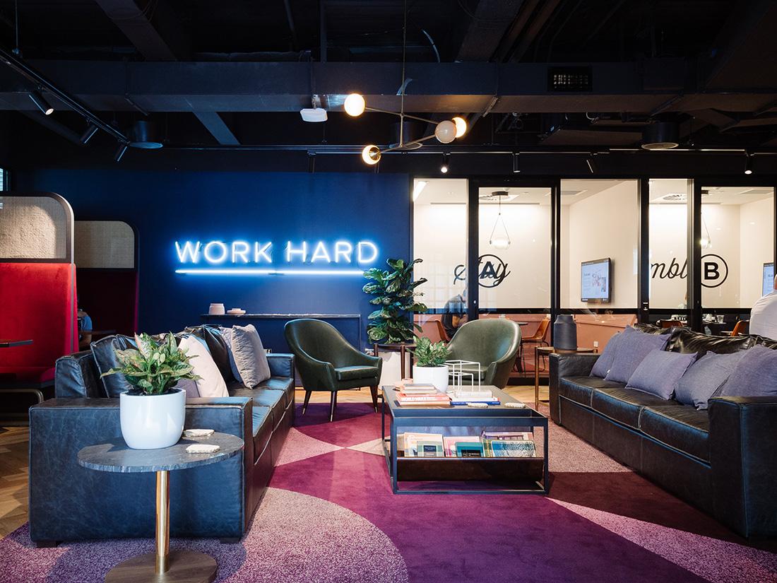 Inside WeWork's Sydney Coworking Space
