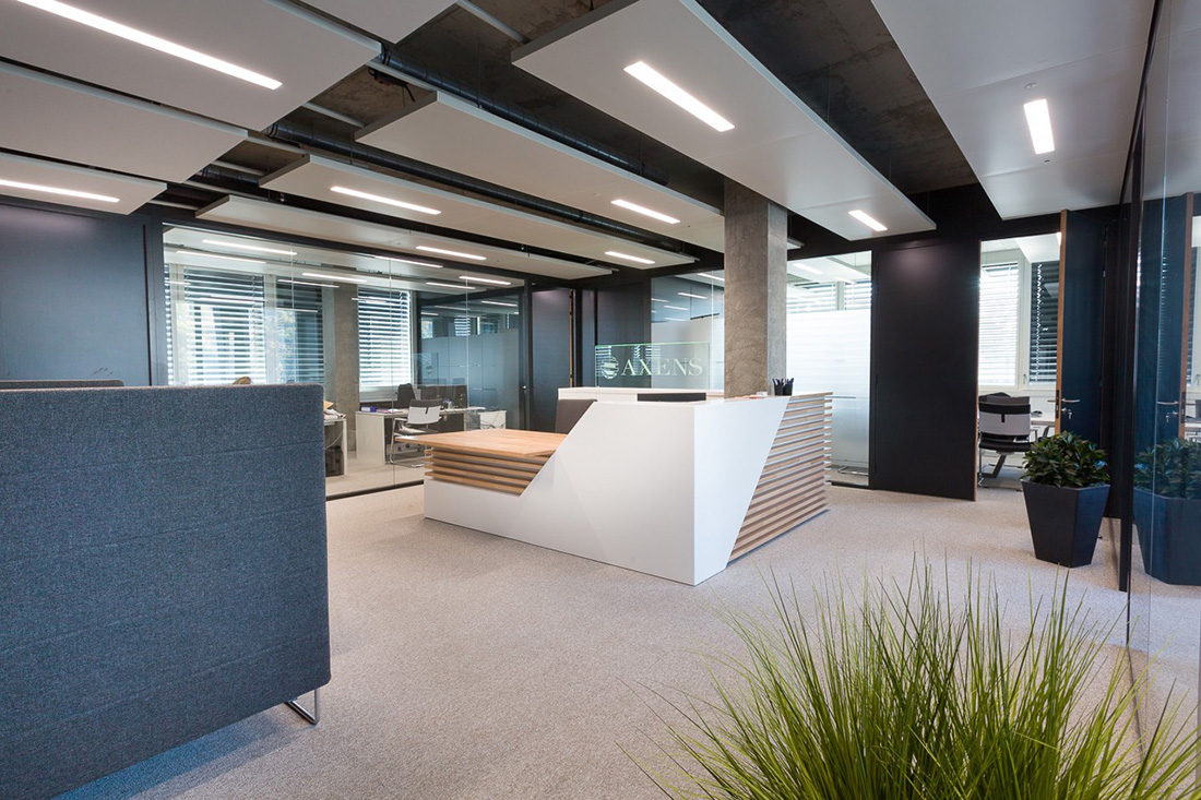A Look Inside Axens' New Lyon Office