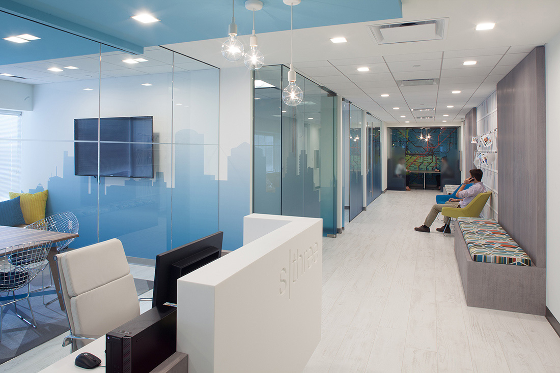 Inside sthree s modern boston office officelovin 39 for Office design hamra
