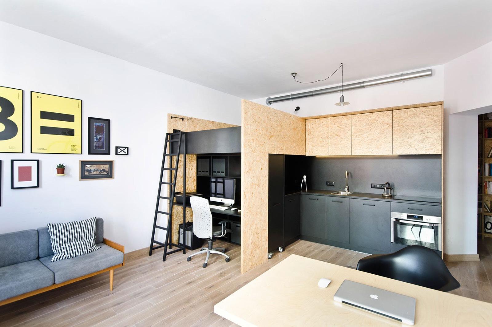 Inside Brandburg Studio\'s Cool Poznan Office/Living Space ...