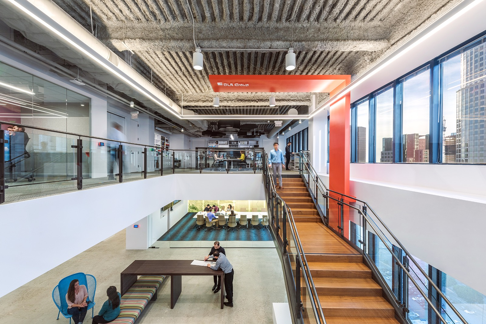 A Tour Of Dlr Group S New Los Angeles Office Officelovin