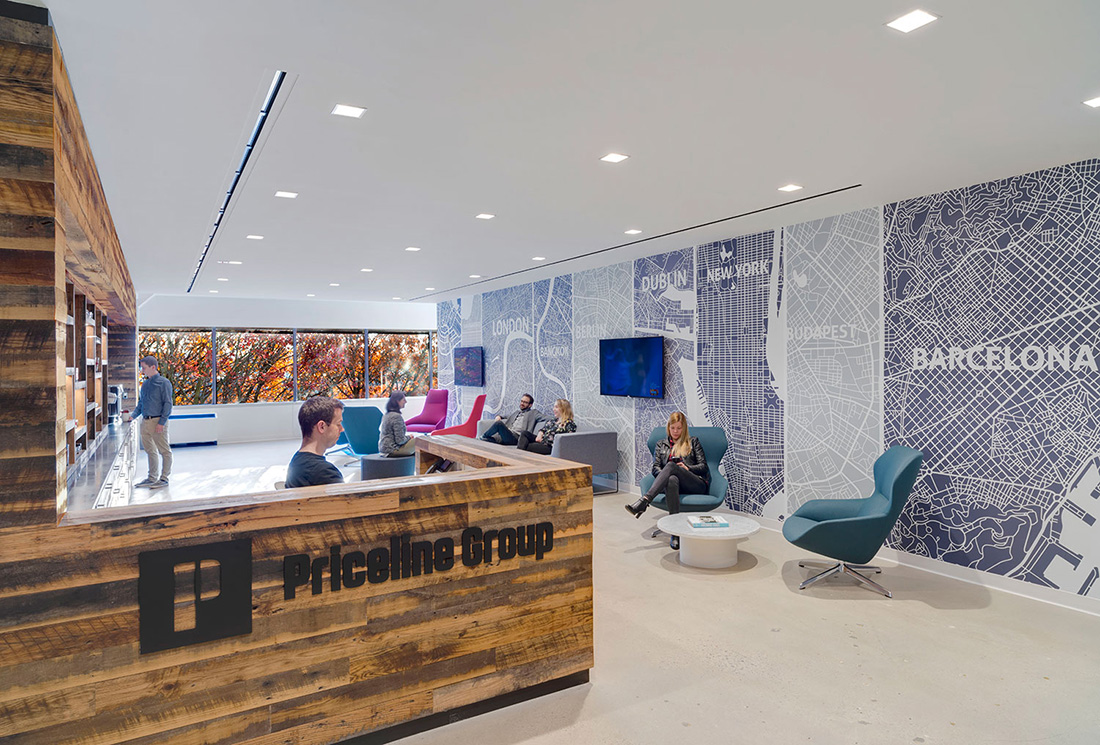 A Tour of Priceline Group's Sleek Norwalk Office