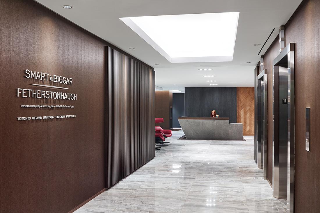 Inside Smart & Biggar's Sleek Toronto Office