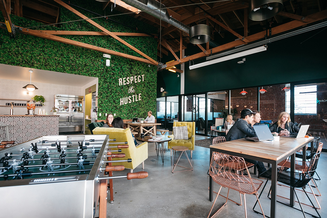 A Tour of WeWork's Culver City Coworking Space